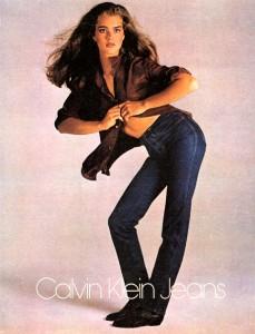 Calvin Klein Brooke Shields