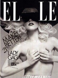 Lady Gaga Elle Magazine Cover