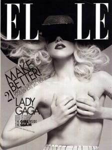 Lady Gaga Elle Magazine Cover