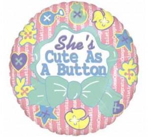 She's as CUTE as a Button!