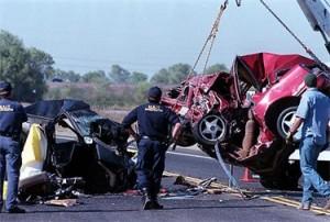 Tiphany Adams accident scene