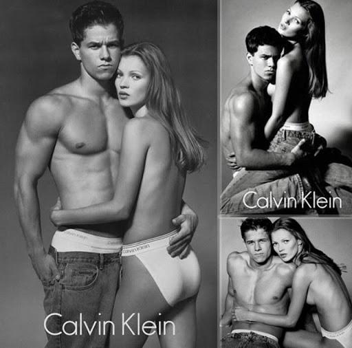 Bella Petite Calvin Klein Kate Moss Mark Wahlberg