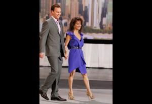 Susan Lucci_Son_Oprah_Fashion Show_BellaPetite.com