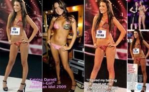American Idol_Katrina Darrell_Ed Hardy Swimsuit_BellaPetite.com