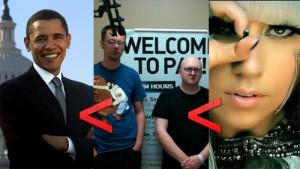 Lady Gaga-influence-facebook-Obama-BellaPetite.com