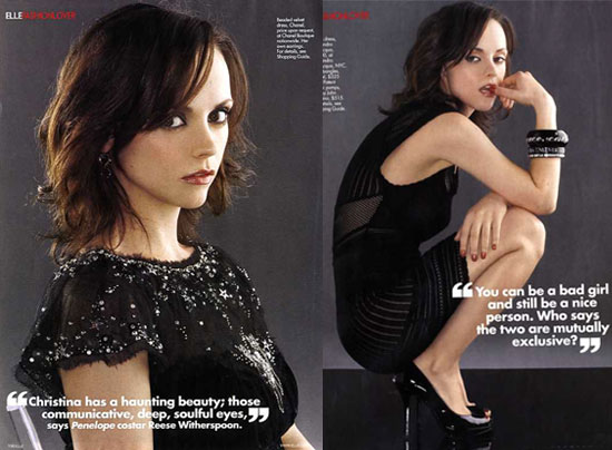 PURE CHRISTINA RICCI. Here's what Christina has to say about height, ...