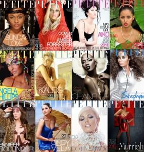 Bella Petite Cover Girl Collage