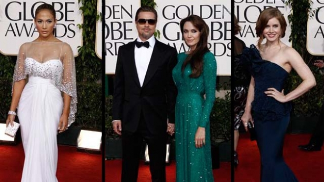 Golden Globes best and worst dressed-2011