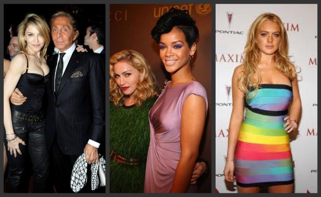 Petite celebrities-Madonna-Lindsay-Lohan-Bellapetite