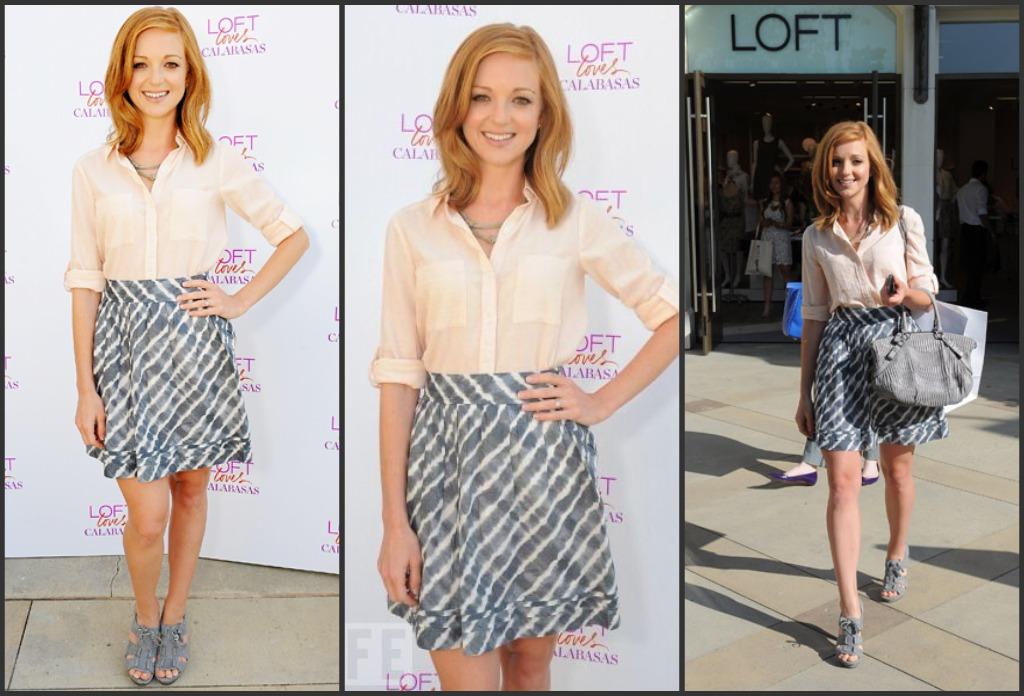 Daily Style Glee Petite Celebrity Jayma Mays Petite Fashion Petite Model Bella Petite
