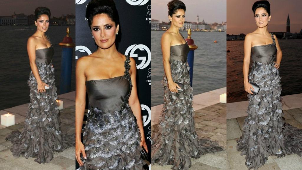 Daily Style Petite Celebrity Salma Hayek Petite Fashion Style Petite Model Bella Petite