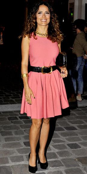 Daily Style Petite Celebrity Salma Hayek Petite Fashion