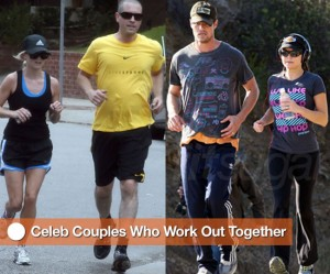 Celebrities-Couples-Working-Out
