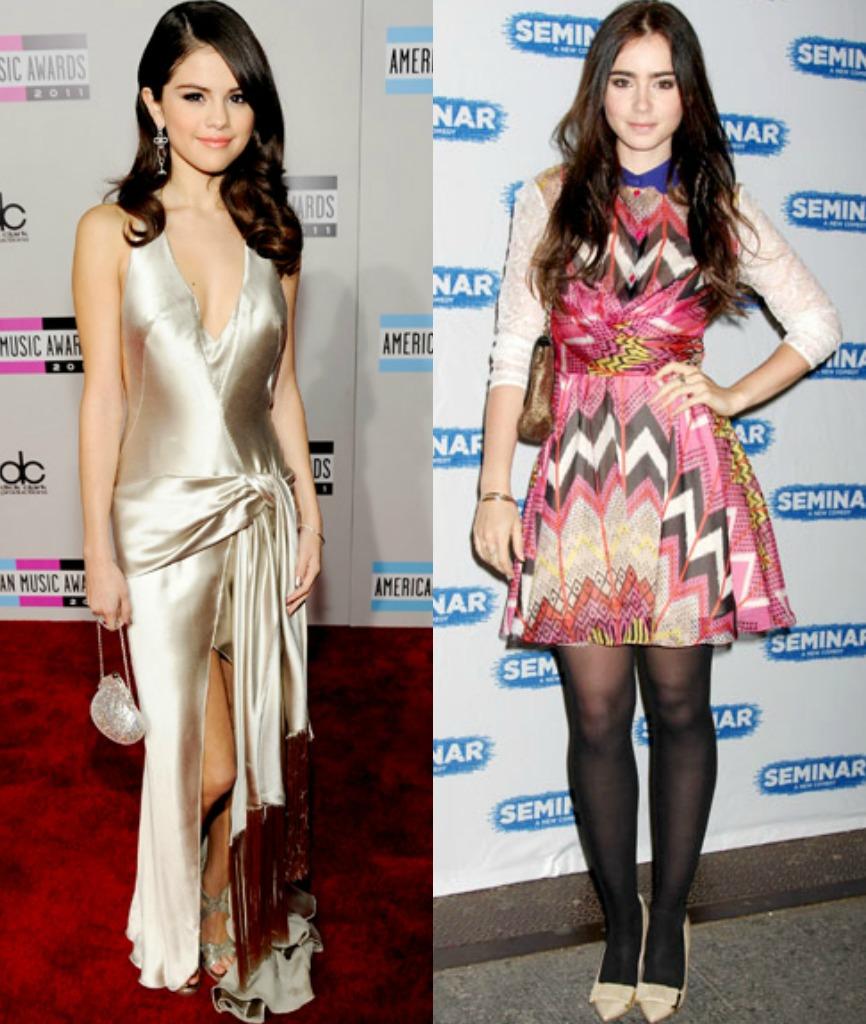 Daily Style Petite Celebrity Selena Gomez Lily Collins Petite Fashion Style Bella Petite