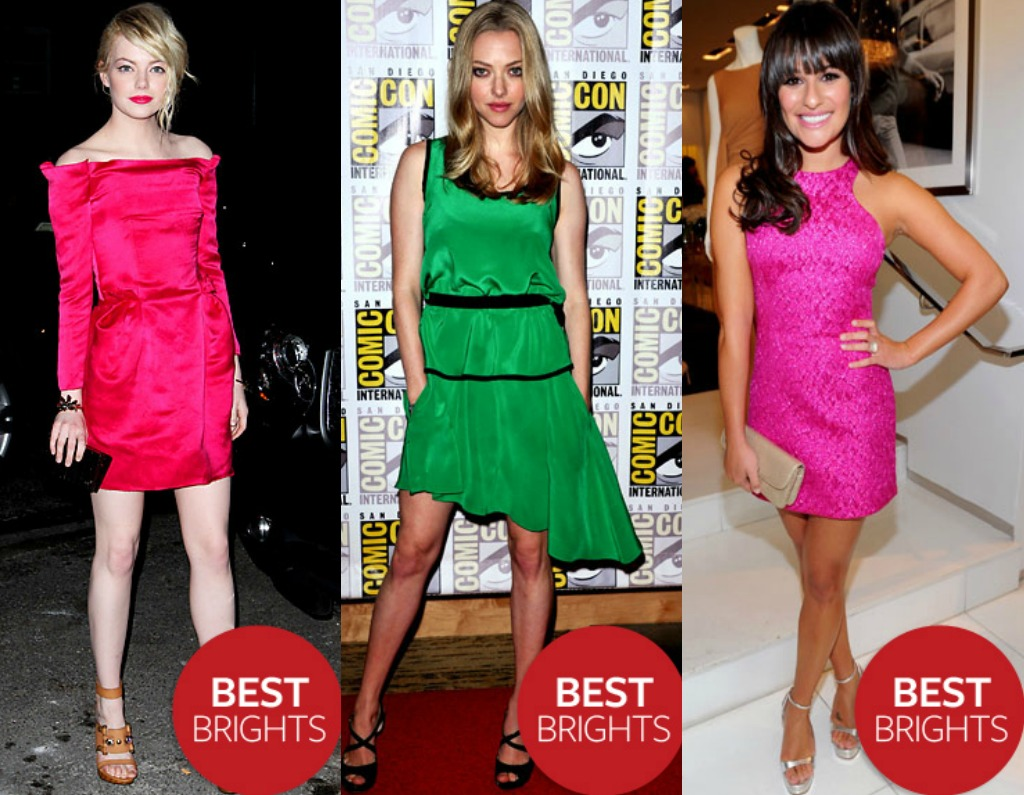 Daily Style Petite Celebrity Best Brights Of 2011 Emma