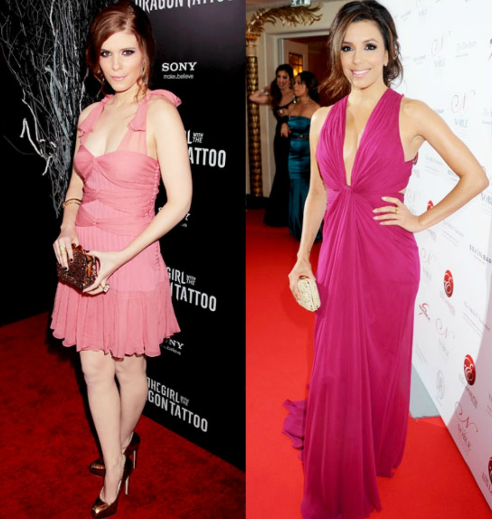 Daily Style Petite Celebrities Kate Mara Vs Eva Longoria