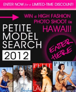 Bella Petite Magazine model-search-ad-2012-limited-time-offer