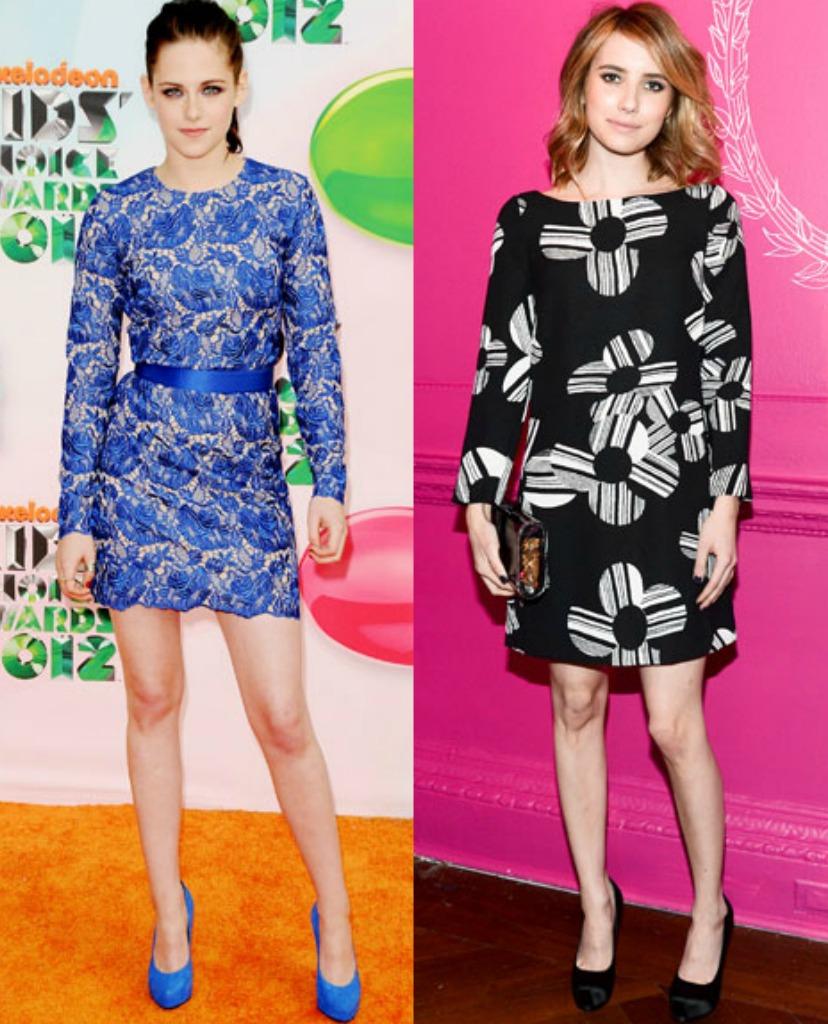 Kristen Stewart Emma Roberts Petite Celebrity Style Bella Petite