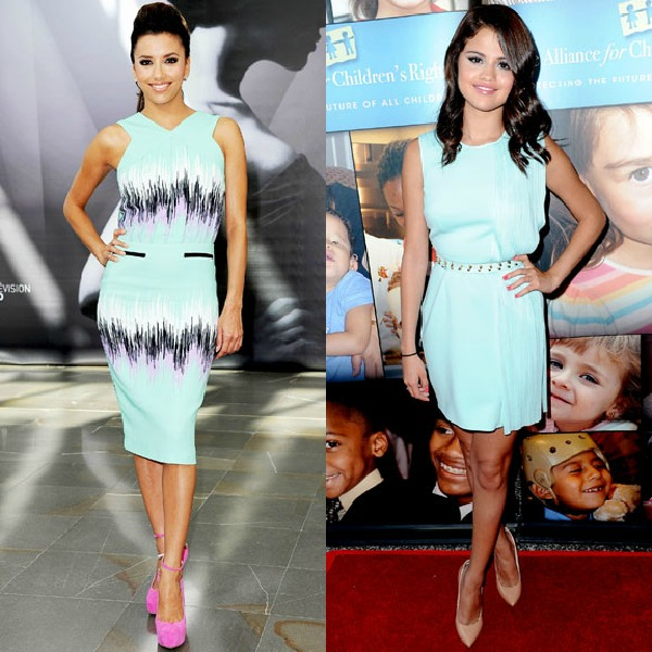 Petite Celebrity Style Watch Eva Longoria Vs Selena Gomez