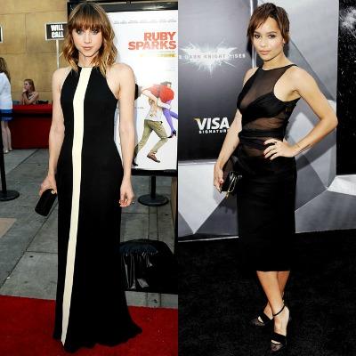 Petite Celebrity Fashion Style On Zoe Kazan Zoe Kravitz Bella Petite