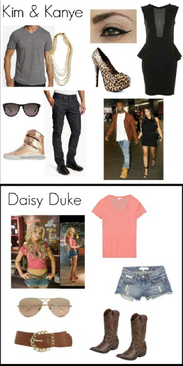 Daisy Duke Halloween Costume And Wig 79