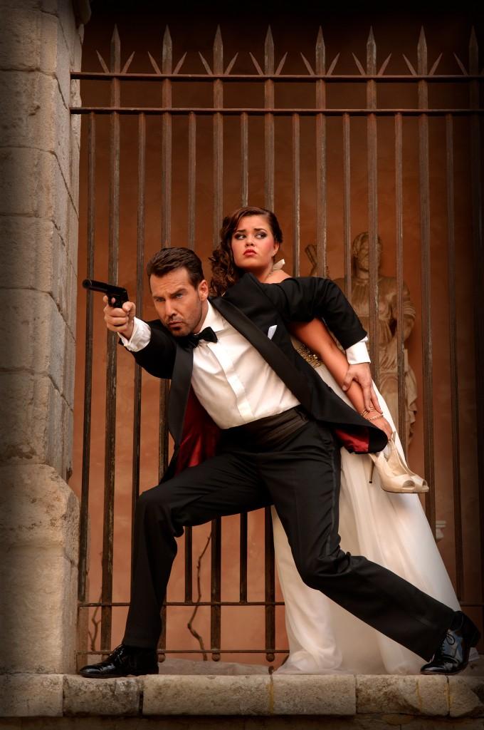 The _James Bond_ connection Harold-Duckers (James Bond)and Demi de Jong