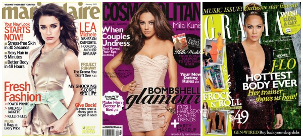 Lea-Michele-Mila-Kunis-JLO-magazine covers