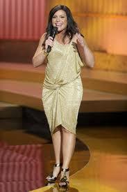 Rachel-Ray-baggy-dress-ankle strap-heels