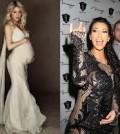 Shakira-Kim-Kardashian-Pregnancy photos-Bella-Petite-Magazine