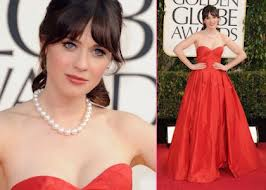 Zoey Deschanel-70th-annual-golden-globes-bellapetite