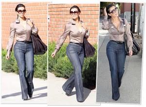 kim-kardashian-Wide-Leg-Jeans