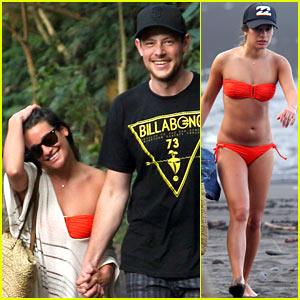 lea-michele-bikini-babe-with-beau-cory-monteith