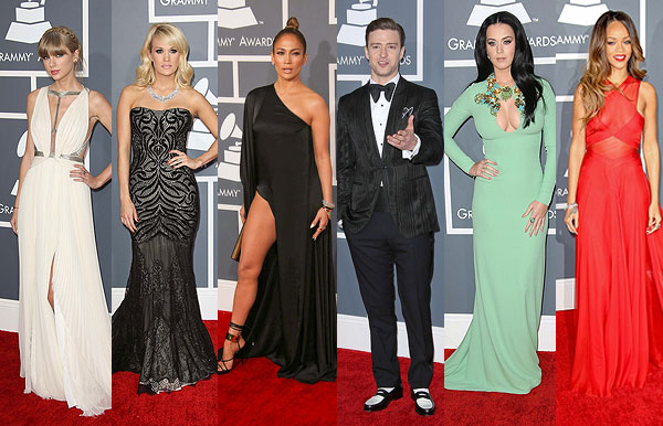 55th Annual Grammy Awards Red Carpet Fashion