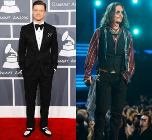 Justin-Timberlake-Johnny-Depp-Grammy-Awards