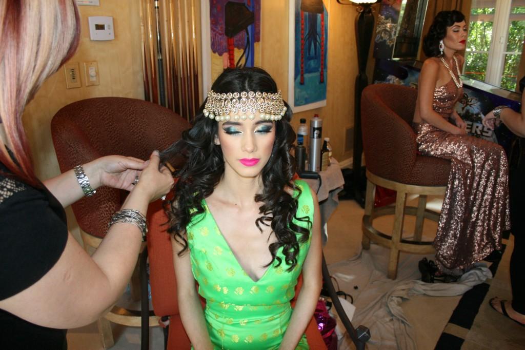 Jennifer Monge Bollywood Glamour Bella Petite Magazine