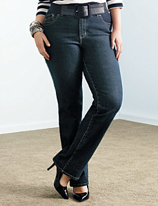 Plus-Size-Petite-Straight-leg-slim-fit-technology