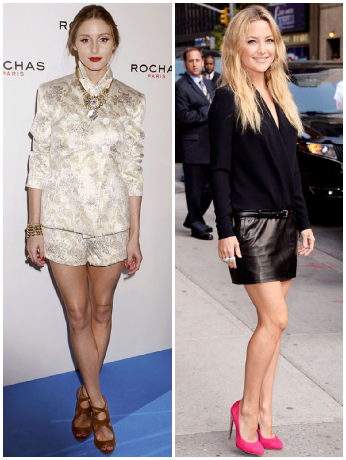 Fashion Watch On Petite Celebrities Olivia Palermo Kate Hudson Bella Petite