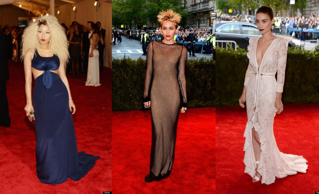 Nicki-Manaj-Miley-Cyrus-Rooney-Mara-Met-Gala-2103