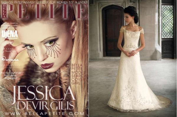 Difference Between Petite Regular Sized Wedding Dresses Bella Petite