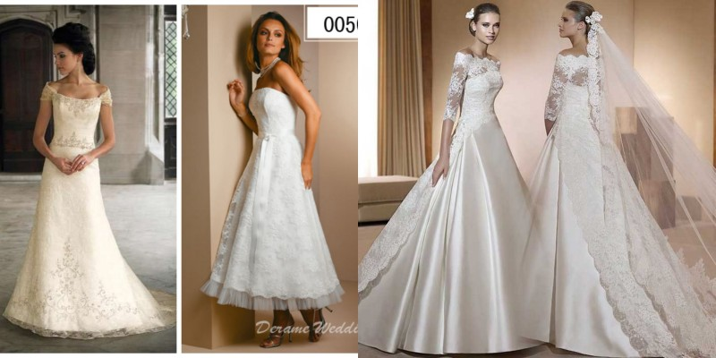 Innovative Women Petite Wedding Dress Without Train Off Shoulder Appliques Bride