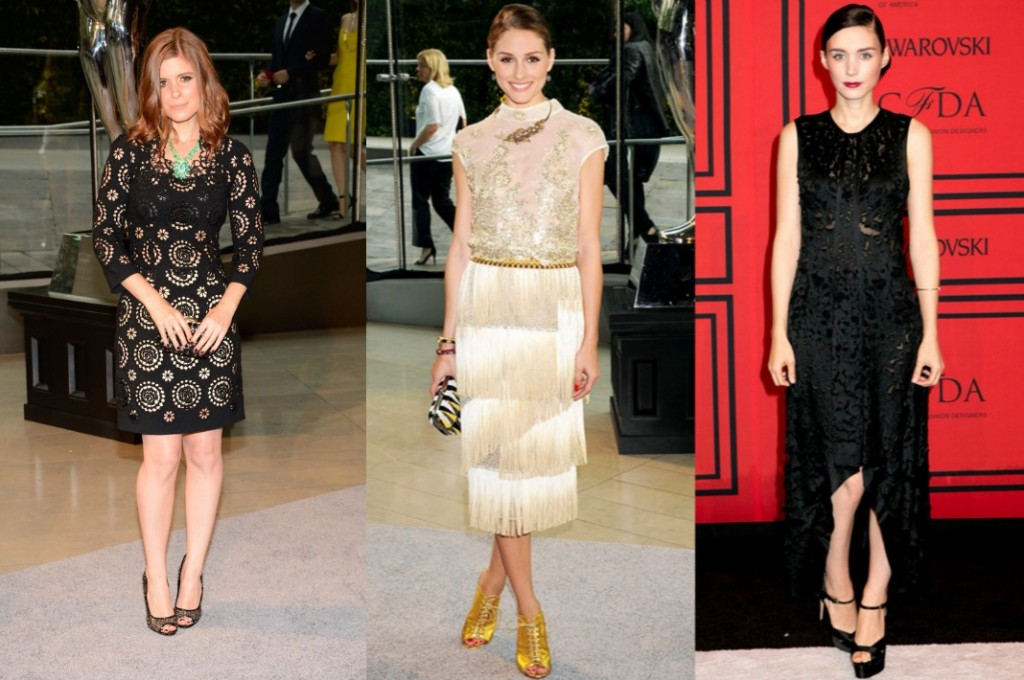 CFDA-2013-kate-mara-olivia-palermo-rooney-mara-petite-celebrities