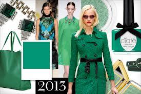 Pantone Fall Greens 2013