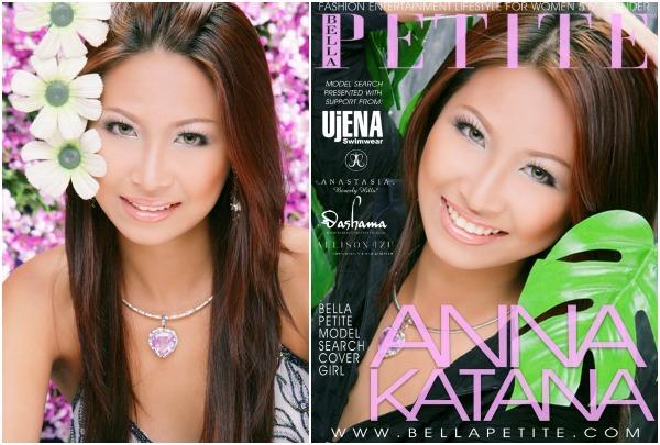 Anna Katana Bella Petite Cover Girl