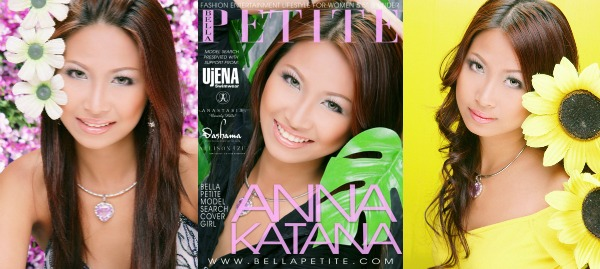 Anna Katana Bella Petite Cover Model