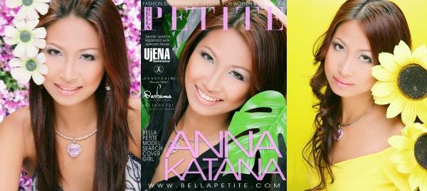 Anna Katana Bella Petite Cover Model