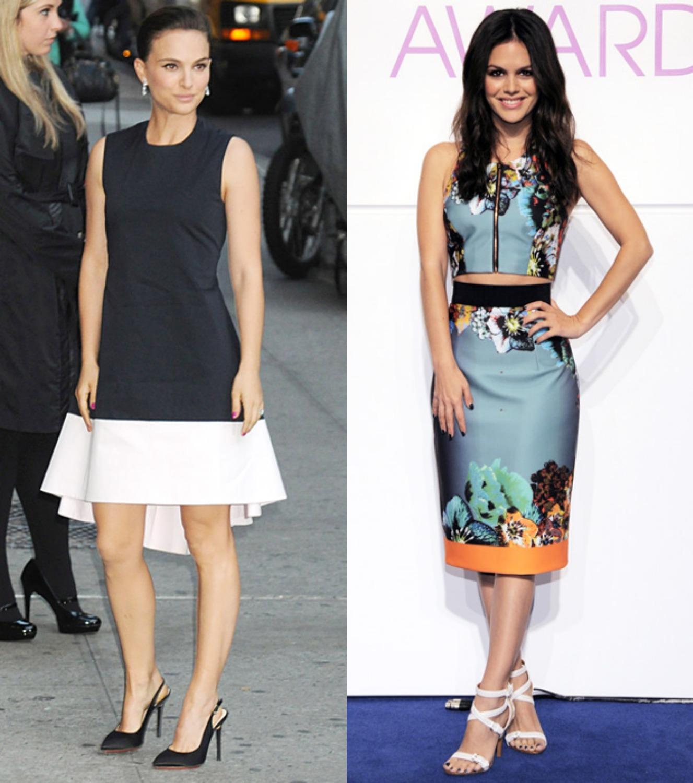 Petite Celebrities Natalie Portman Rachel Bilson Style Watch Bella Petite