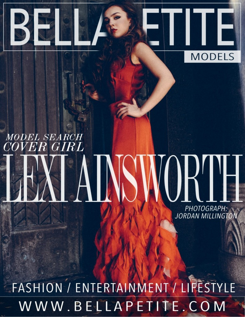 Lexi Ainsworth Bella Petite Magazine Cover Girl