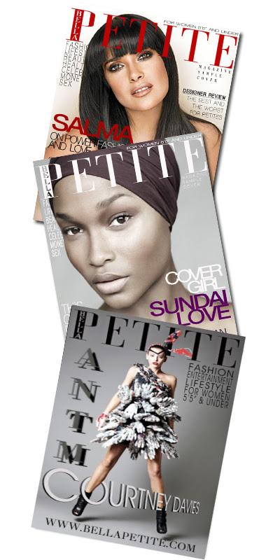 Tall woman petite woman sexAnn Lauren® Editor Bella Petite® Magazine