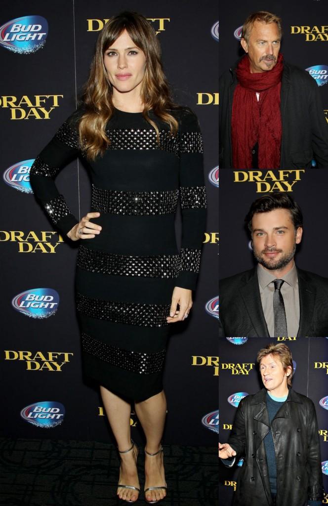 Jennifer-Garner-Kevin-Costner-Tom-Welling-Dennis-Leary-Draft-Day