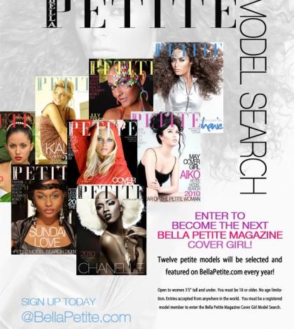 Model Search Magazine Ad For Petite Women
